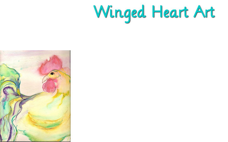 Winged Heart Art